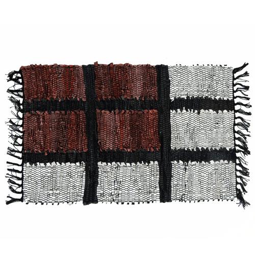 Alfombra-de-Cuero-Barak-Mora-Negro-50-x-80-cm