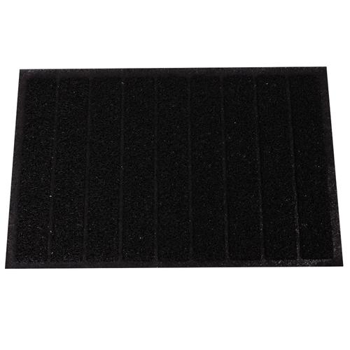 -Alfombra-de-PVC-Entrada-Multiuso-Tube-Negro-40-x-60