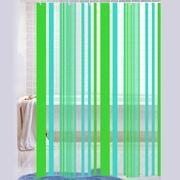 Cortina-de-Baño-PVC-Stripe-verde