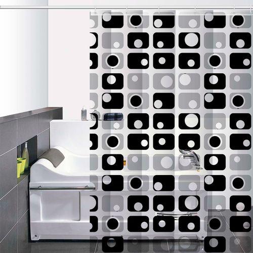 Cortina-de-Baño-PVC-Platinum-gris