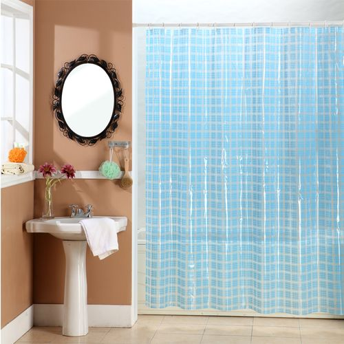 Cortina-de-Baño-PVC-Cristal-Square-Azul