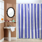 Cortina-de-Baño-PVC-Cristal-Line-Azul