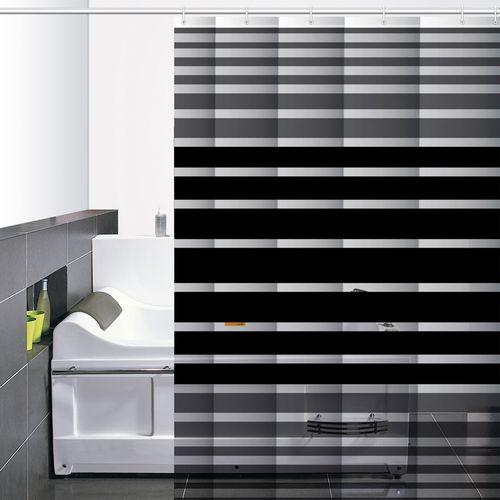 Cortina-de-Baño-PVC-Zinia-Negro