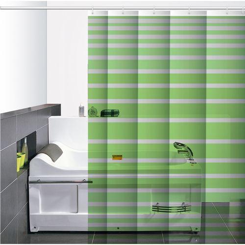 Cortina-de-Baño-PVC-Zinia-Verde