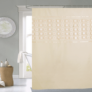 Cortina-de-baño-Chenille-Luxury-Doris-beige