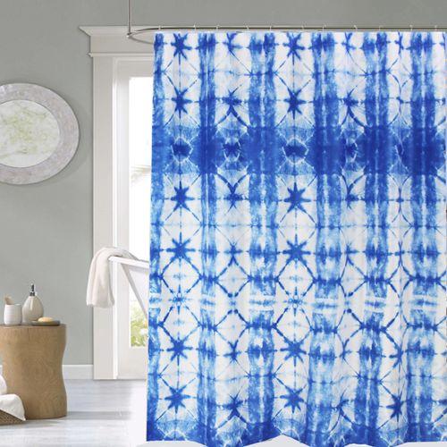 Cortina-de-Baño-Teflon-Estampada-Batik-Azul