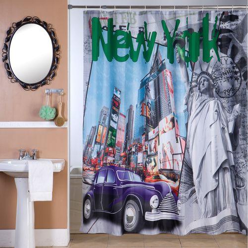 Cortina-de-Bano-Panel-Estampada-Vintage-New-York