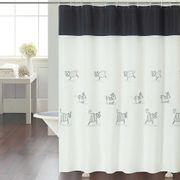 Cortina-de-Bano-Chenille-Luxury-Stripes-Cats