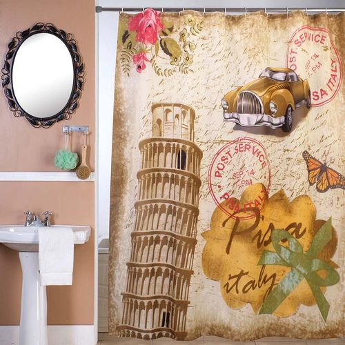 Cortina-de-Bano-Panel-Estampada-Rose-in-Italy