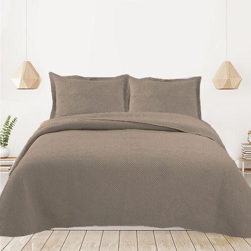 Cubrecama-Quilt-Premium-Stone-Wash-Celine-Taupe-240-x-260