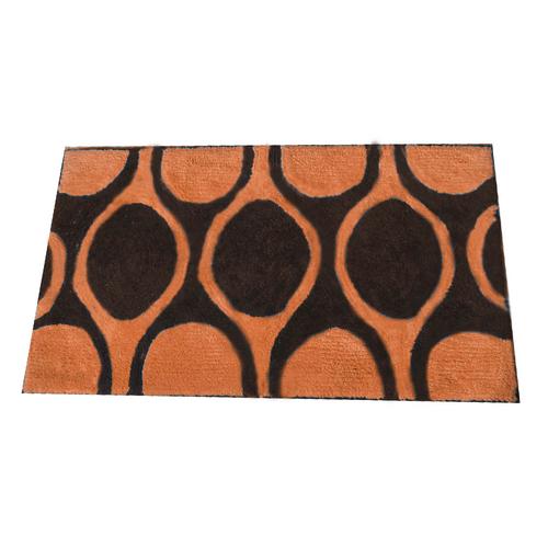 Alfombra-de-Microfibra-Naomi-Naranja-Negro