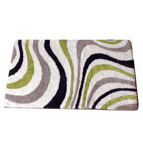 Alfombra-de-Microfibra-Ivone-Blanco-gris-verde