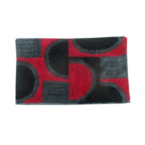 Alfombra-de-Microfibra-Blonde-Negro-Rojo