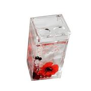 Red-Flower-Portacepillo