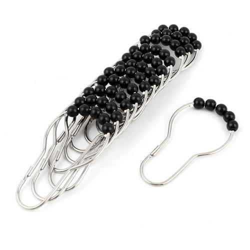 Ganchos-de-Baño-Roller-Metal-Negro
