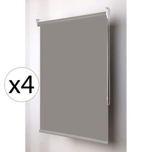 CortinaRollerBlackoutColorCollectionGris28mm100x165mtsx6unidades
