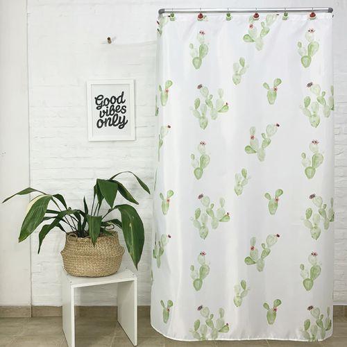 Cortina-de-Bano-Flower-Cactus