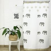 Cortina-de-Bano-Baby-Elephant