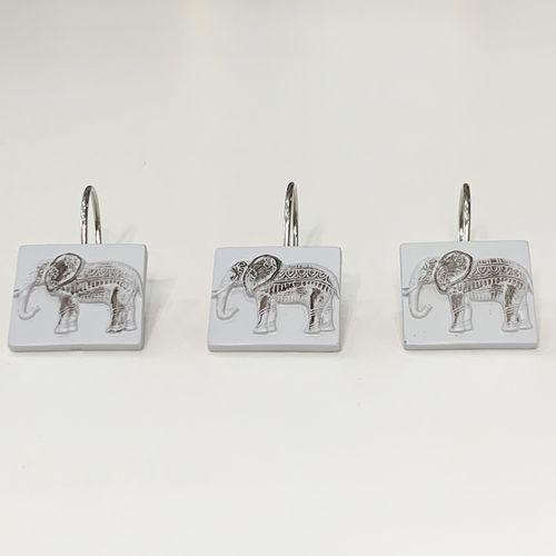 Gancho-de-bano-Elephant-Gris-Negro