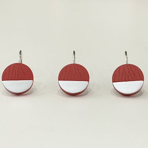 Gancho-de-bano-Lunar-Silver-Rojo