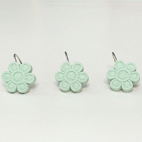 Gancho-de-bano-Rustic-Flower-Aqua