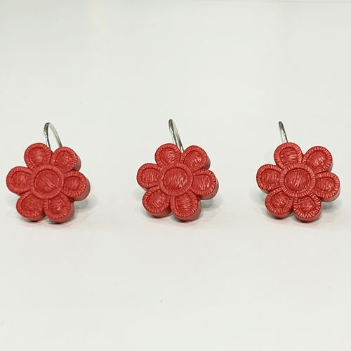 Gancho-de-bano-Rustic-Flower-Rojo