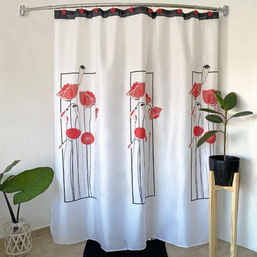 window-flower-rojo