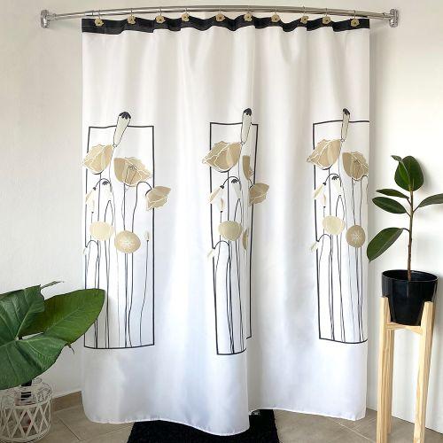 window-flower-beige